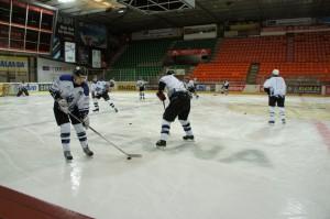 Match im alten Eisstadion 2014
